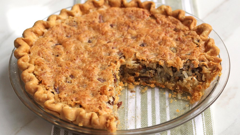 Toasted Coconut-Pecan Pie