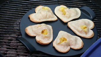 Spiced Pineapple Hand Pies on the Grill