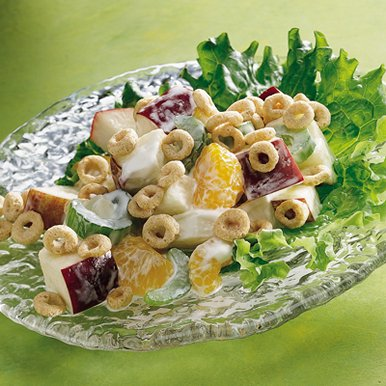 Cheerios Crunchy Apple Salad