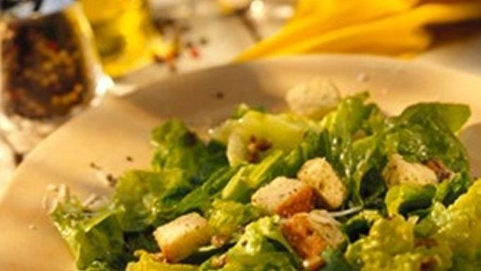 Simple Caesar Salad recipe - from Tablespoon!
