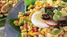 Chili-Lime Corn and Spinach Salad Recipe