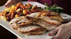 Grilled Honey-Dijon Brined Turkey Breast Recipe