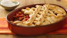 Rice and Bean Burrito Pot Pie Recipe