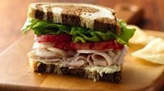 Smoked Turkey and Creamy Artichoke Sandwiches Recipe