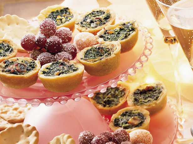 Spinach Quiche Bites