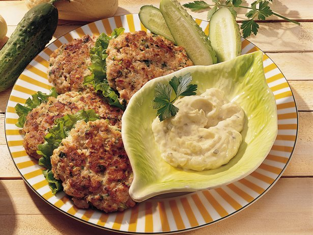 Whitefish and Shrimp Cakes