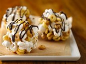 Dulce de Leche Popcorn Balls