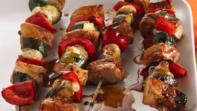 Summer Pork Kabobs