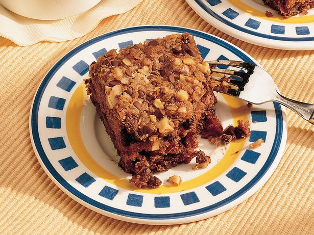 Take-Along Chocolate Chip-Date Cake 