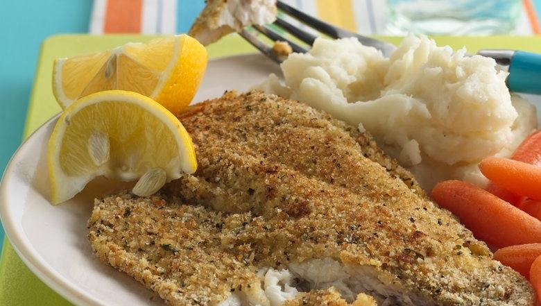 Crispy Oven-Baked Fish
