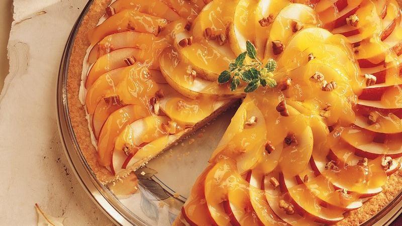 Pear-Pecan Tart