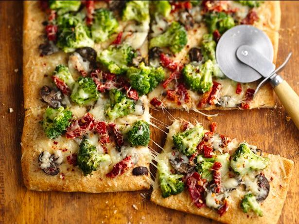 Tuscan Broccoli Pizza