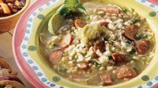 Southwestern Green Chile Soup Recipe
