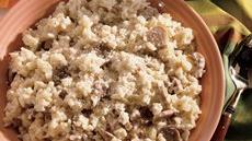 Quick Mushroom Risotto Recipe