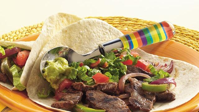Chipotle-Beef Fajitas