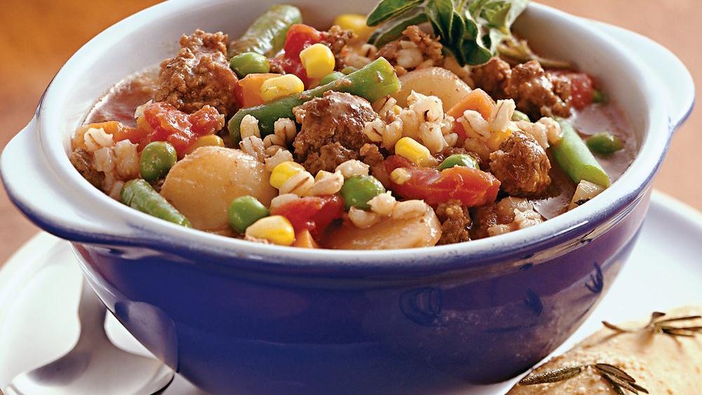 Beef-Barley Stew