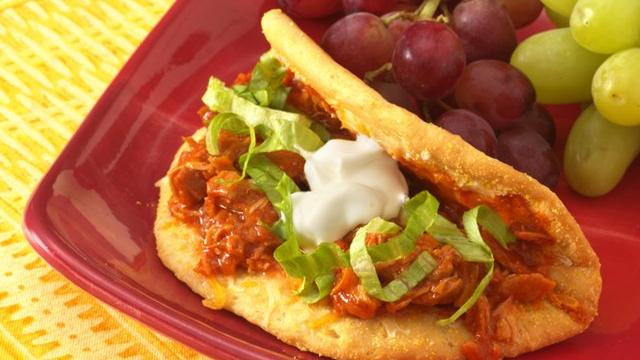 Biscuit Chicken Gorditas