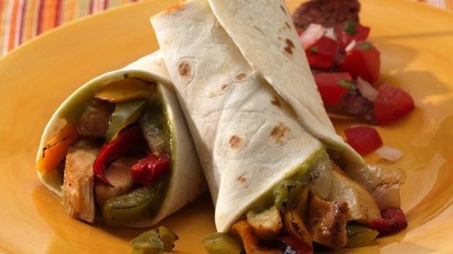 Easy Southwest Chicken Fajitas