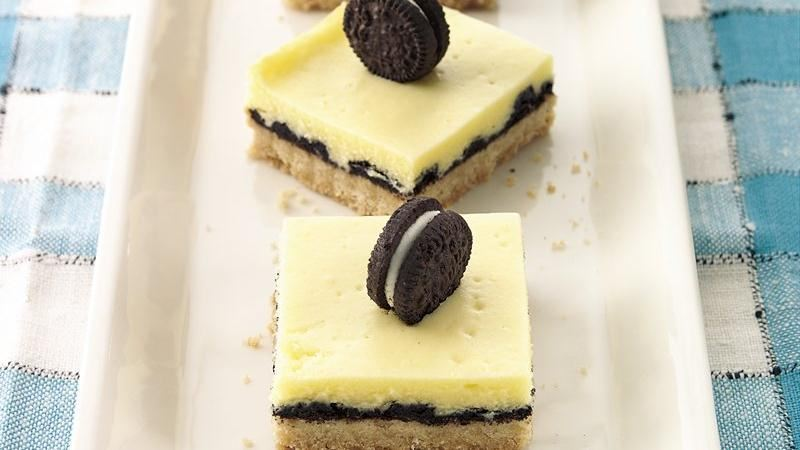Cookie-Cheesecake Bars