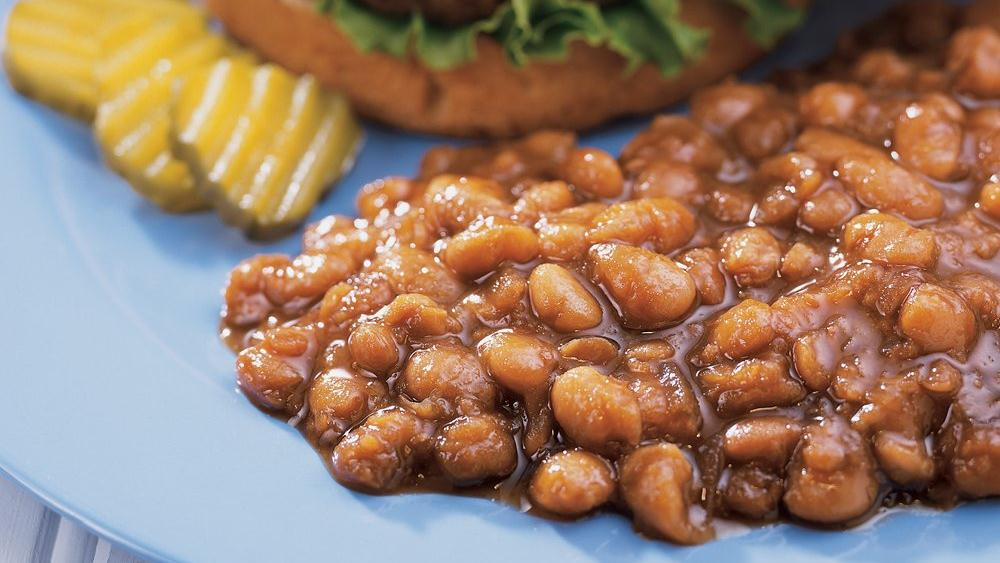 Slow-Cooked Baked Beans recipe from Pillsbury.com