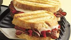 Grilled Beef and Provolone Sandwiches Recipe