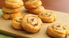 Peach Chutney Pinwheels Recipe