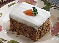 Carrot Cake (lighter recipe)