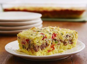 Cheesy&#32;Sausage&#32;and&#32;Egg&#32;Bake