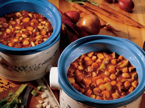 Slow Cooker Bean Cassoulet