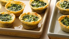 Gluten Free Spinach Mini Quiches Recipe