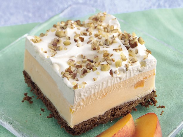 Ginger-Peach Dessert