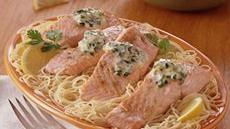 Baked Salmon with Cilantro Recipe