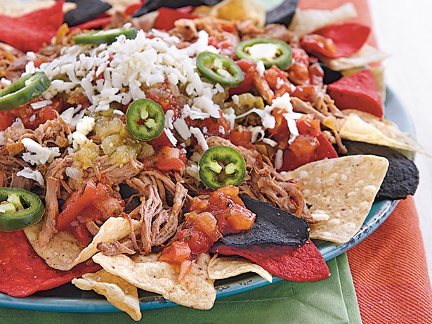 Slow Cooker Pork Carnitas Nachos