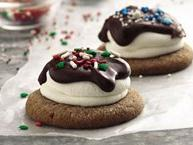Fudge and Marshmallow-Topped Cocoa Cookies (Cookie Mix)
