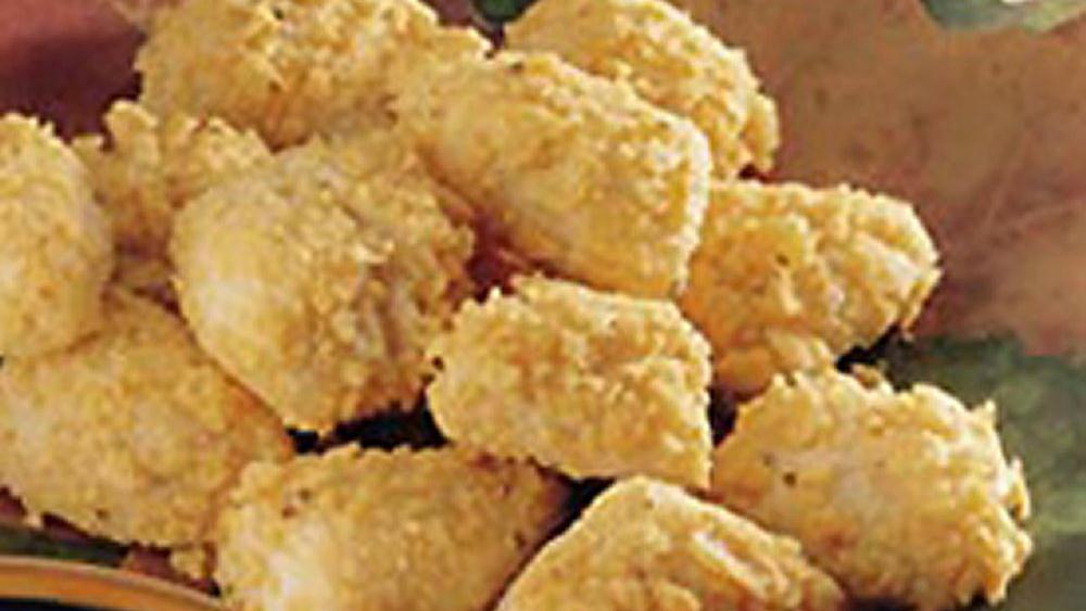 Crunchy-Topped Mini-Biscuit Wedges