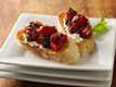 Fire Roasted Tomato and Olive Bruschetta