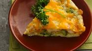 Healthified Impossibly Easy Chicken 'n Broccoli Pie