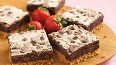 Mexican Chocolate Crunch Brownies Recipe