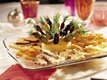 Cheese Tray with Olive Rosemary Skewers