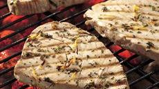 Lemon and Thyme Grilled Tuna Recipe
