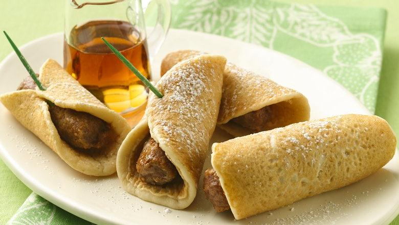 Pancake Roll-Ups