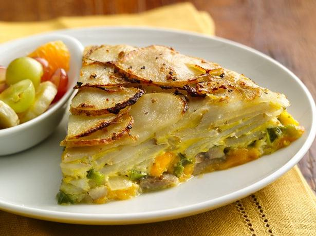 Potato Crusted Frittata