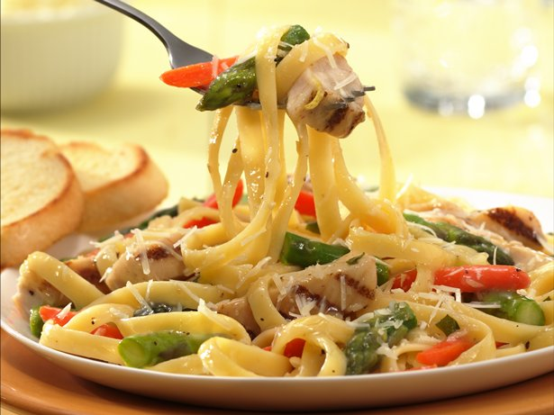 Lemon Chicken Primavera