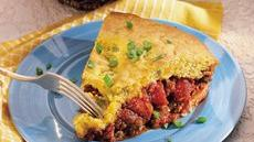 Chili Corn Dog Pie Recipe