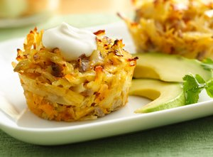 Mexican&#32;Hash&#32;Brown&#32;Breakfast&#32;Cupcakes