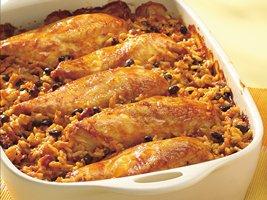 2f468892 79a0 405d 9edc 85d9e1b35cf4 - Salsa Chicken Rice Casserole