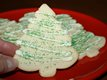 Grandmas Christmas Tree Sugar Cookies