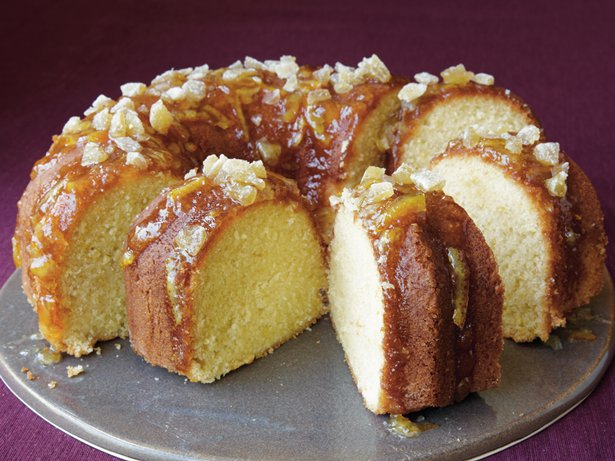 Ginger-Orange Pound Cake