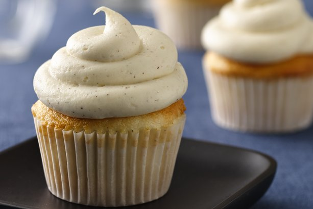 Vanilla Bean Cupcakes with Brown Butter Icing | General Mills ...