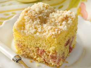 Rhubarb&#32;Coffee&#32;Cake